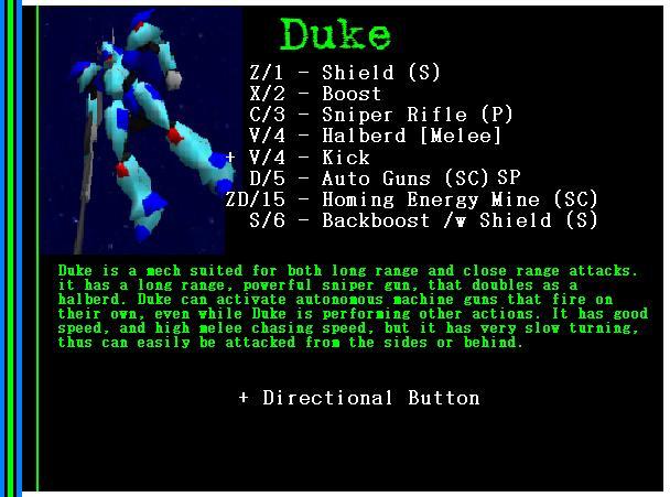 Mech: Duke