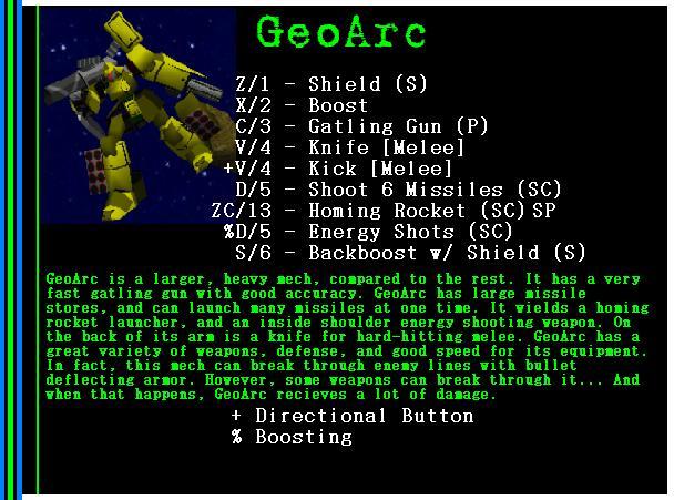 Mech: GeoArc
