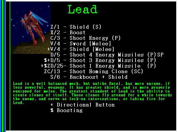 Mech: Lead