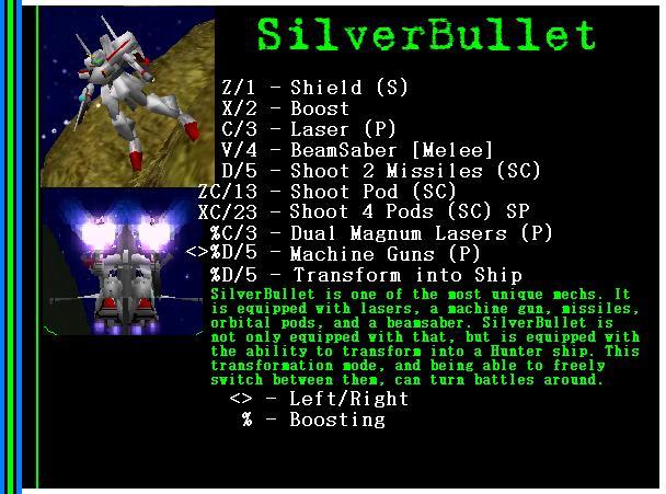 Mech: SilverBullet