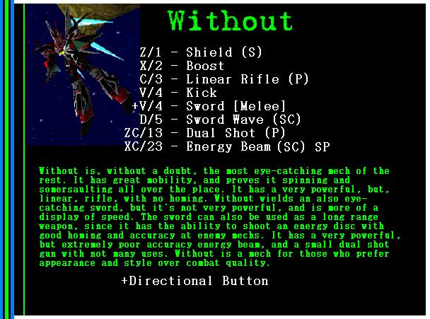 Mech: Without